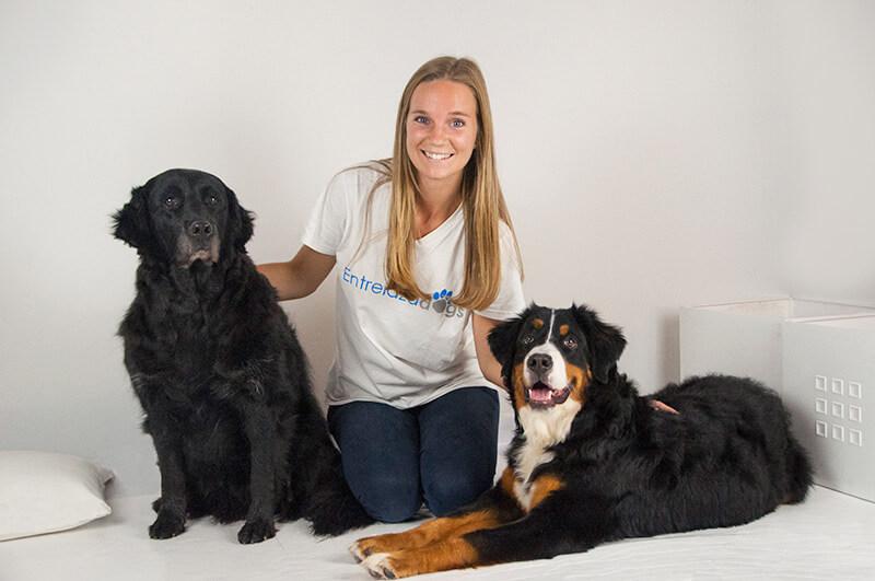 Mireia Bosch Terapia con perros