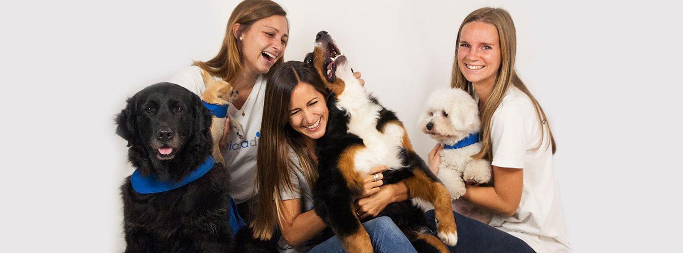 Equipo terapias con perros